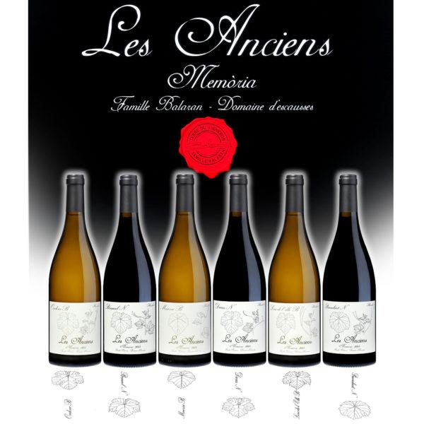 Coffret de vins de Gaillac - Les Anciens