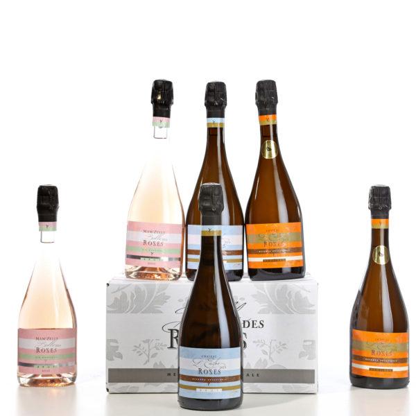 Jolie ensemble de vins