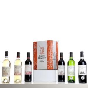 coffret de 6 vins du domaine d'escausses