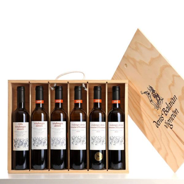 Coffret Vendanges dorées 6 bouteilles de vin rouge gaillacois