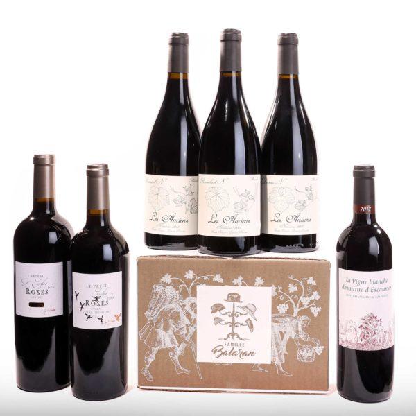 Vins rouge Familles Balaran