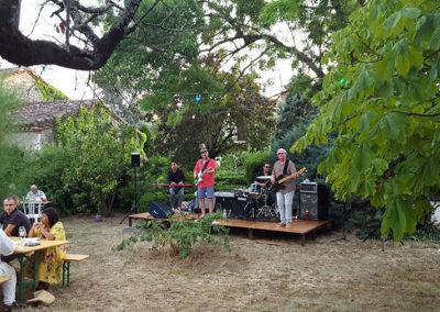 Famille Baralan, Concert, groupe de musique, apéro.