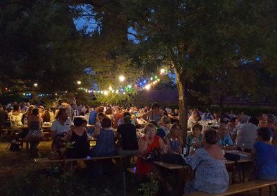 Dégustation de vin. Concert Lampions. Domaine vigneron indépendant évènement. Domaine d'escausses.