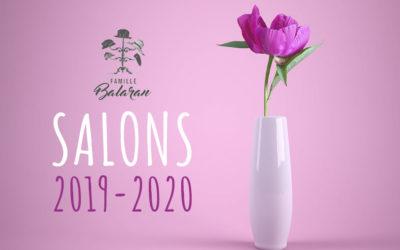 Salons 2019 et 2020